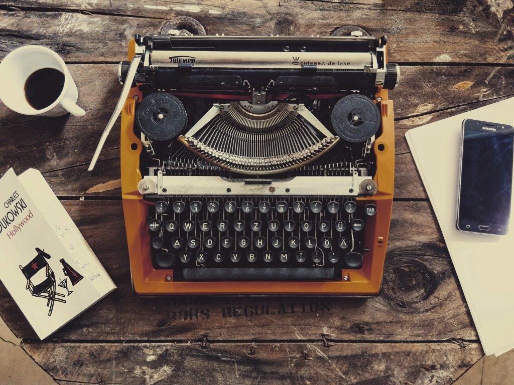 Vecchie macchine da scrivere