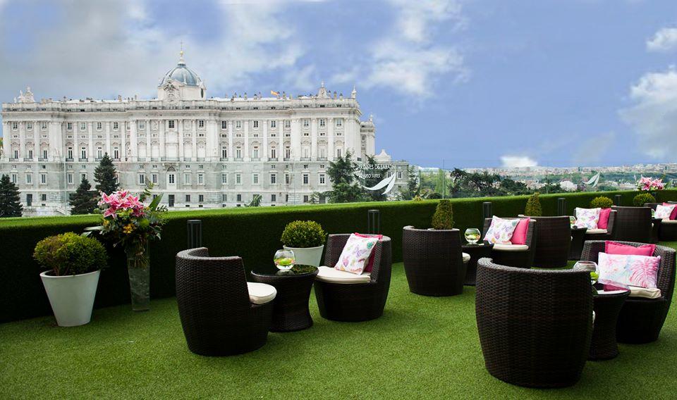 Rooftop Terrace Jardines De Sabatini