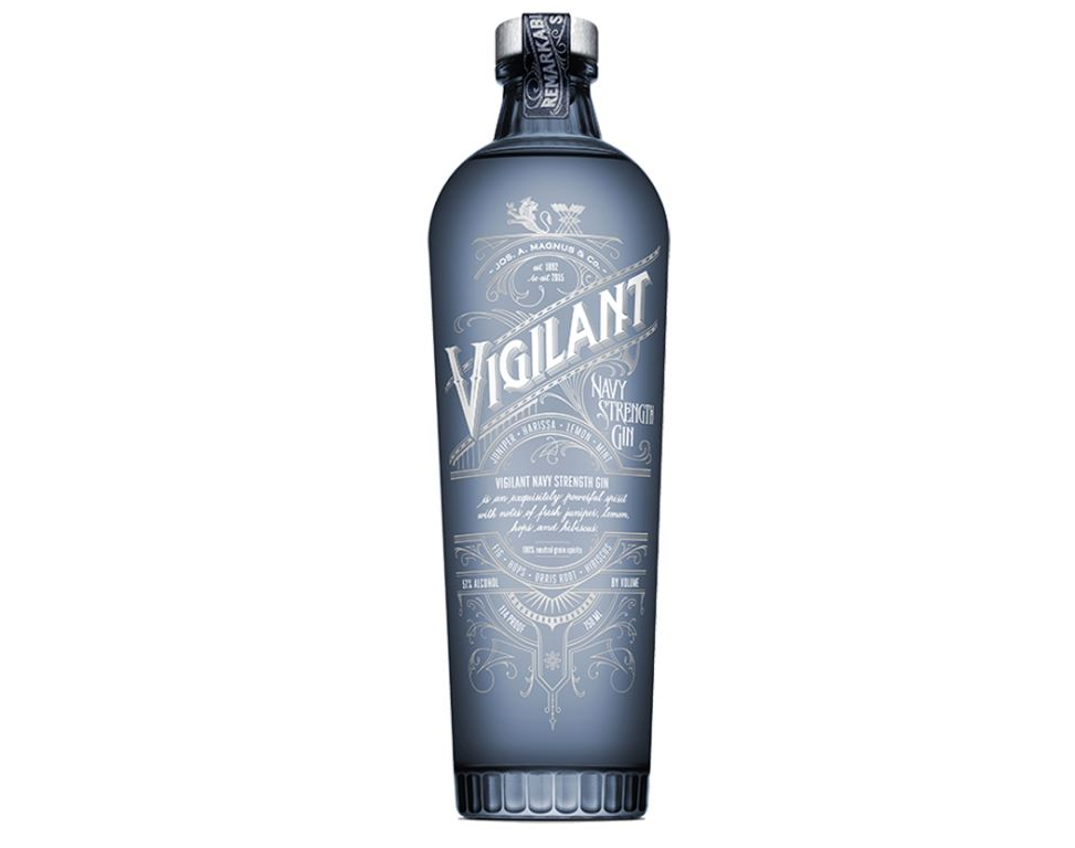 Strength Vigilant, Navy Strength migliori gin 2018