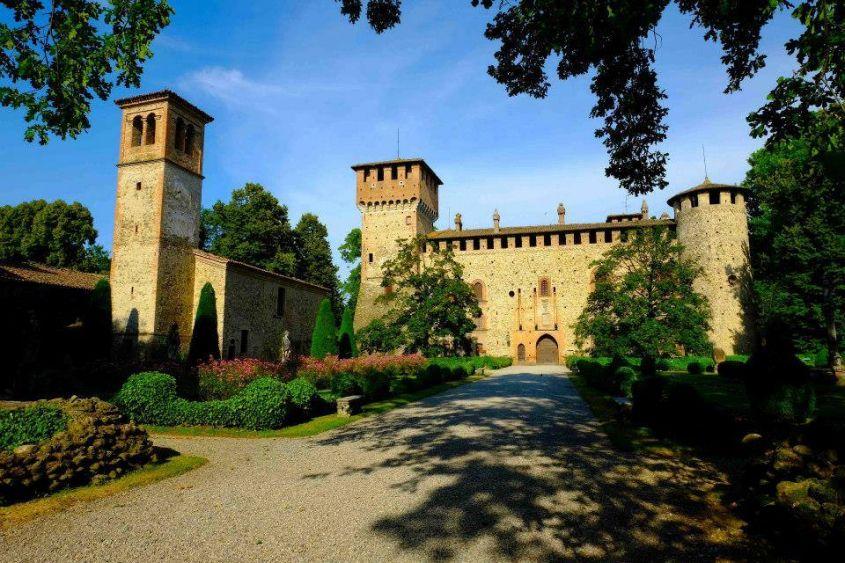castelli estate 2018 Castello Grazzano Visconti