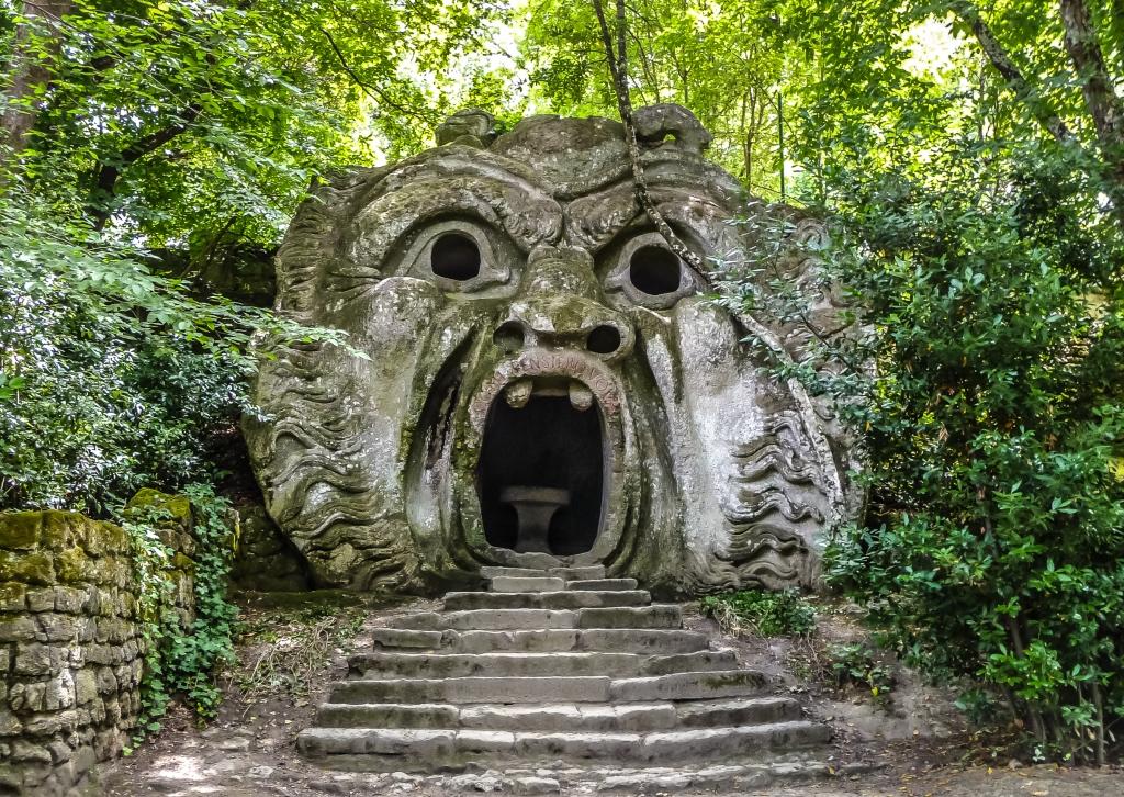 cosa vedere in italia parco dei mostri di bomarzo