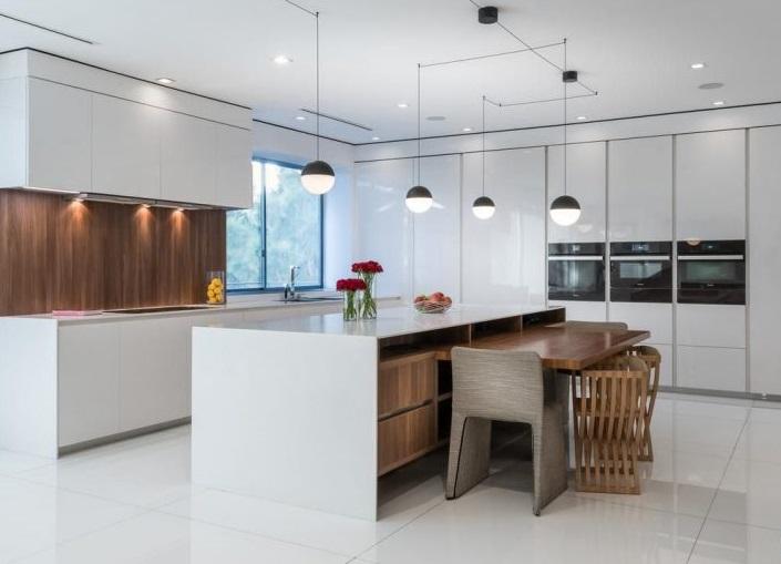 la cucina della casa di martellus bennet