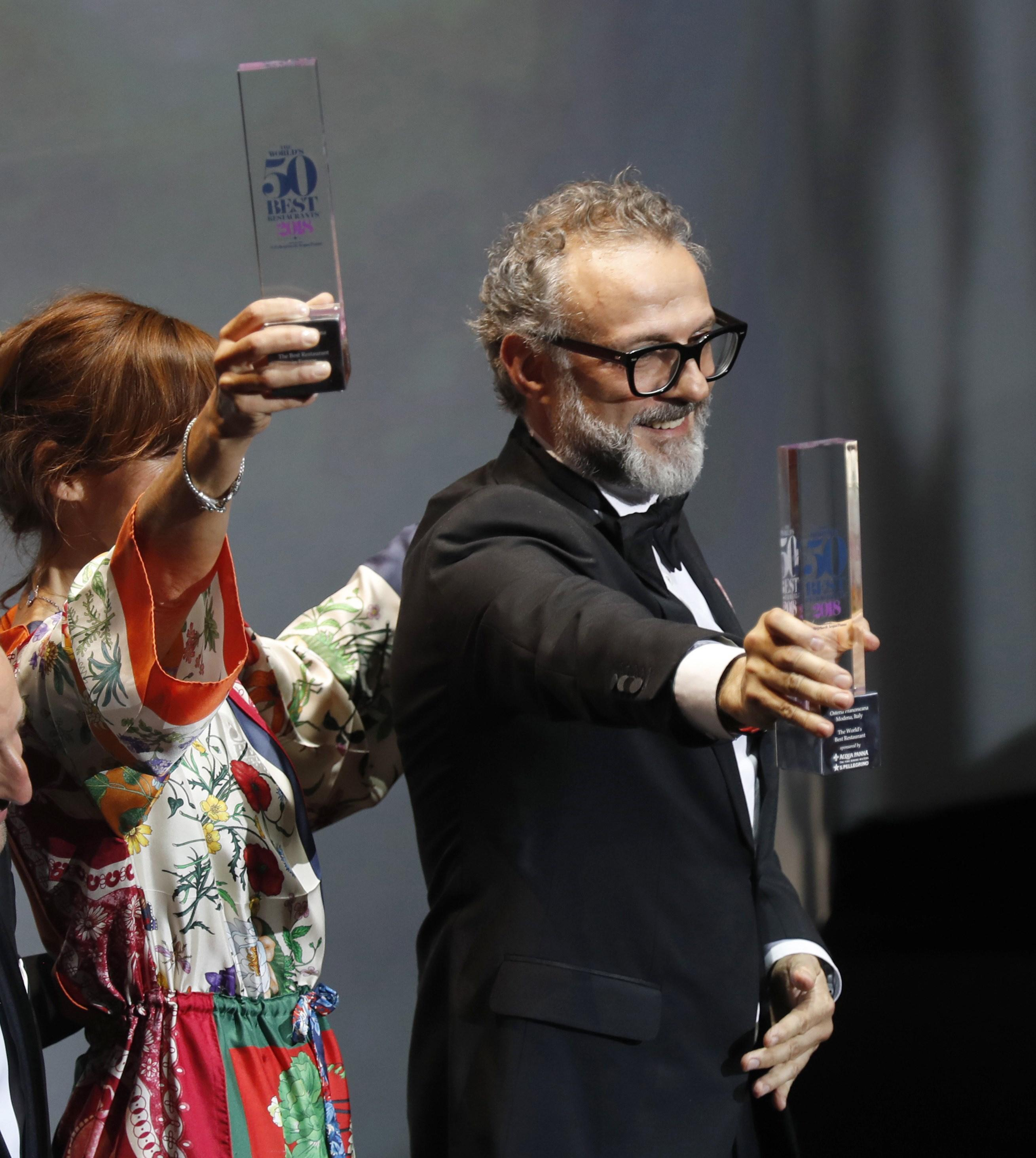 Italian Osteria Francescana named Best Restaurant 2018