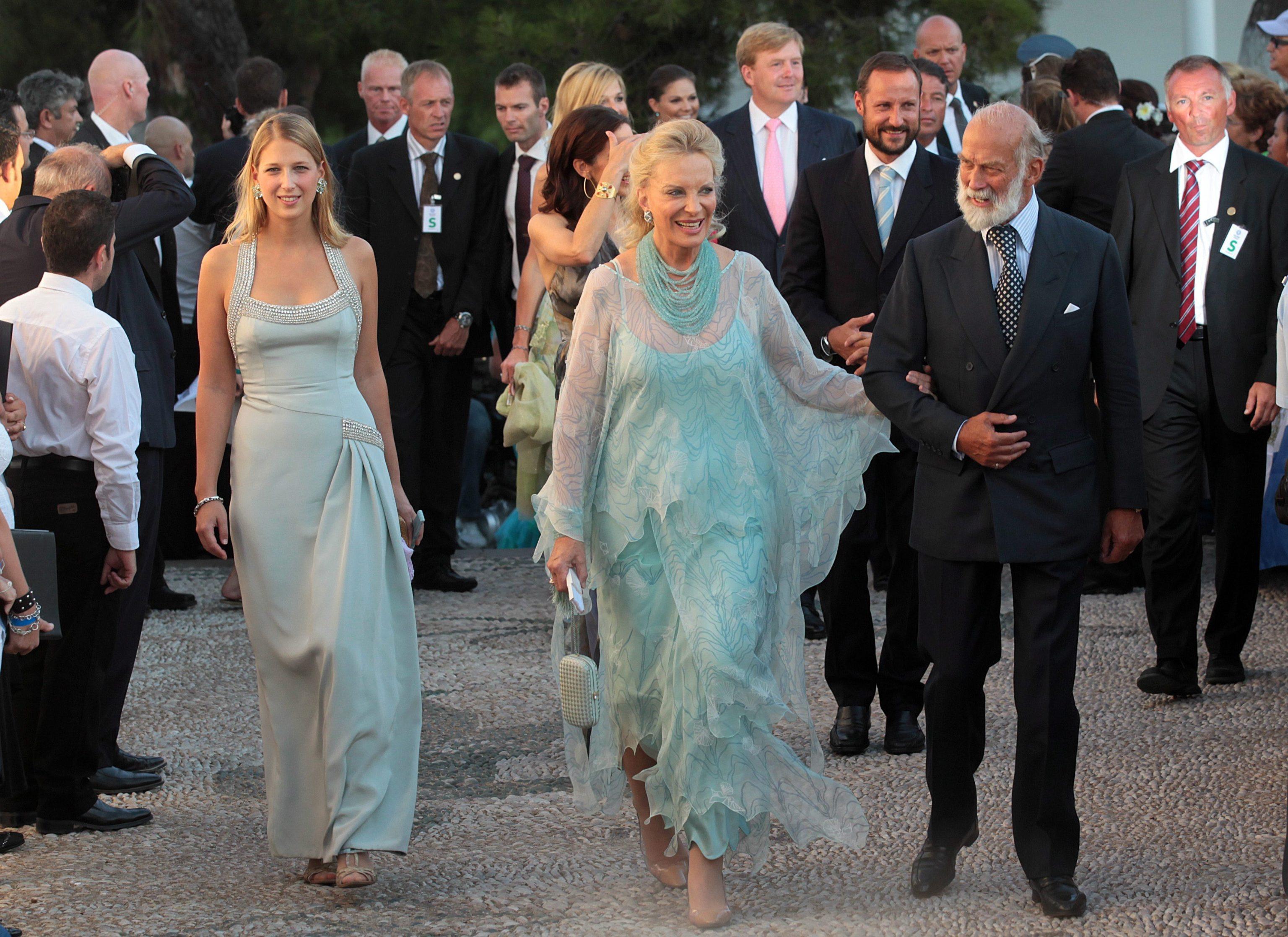 Gabriella Windsor accanto ai suoi genitori principesse single