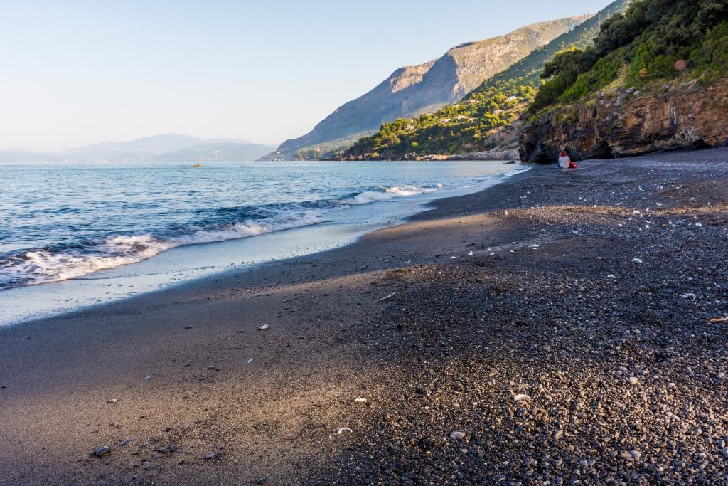 spiagge nere italia europa spiagga di maratea