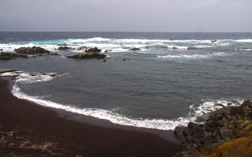 spiagge nere italia europa spiaggia di corvo island