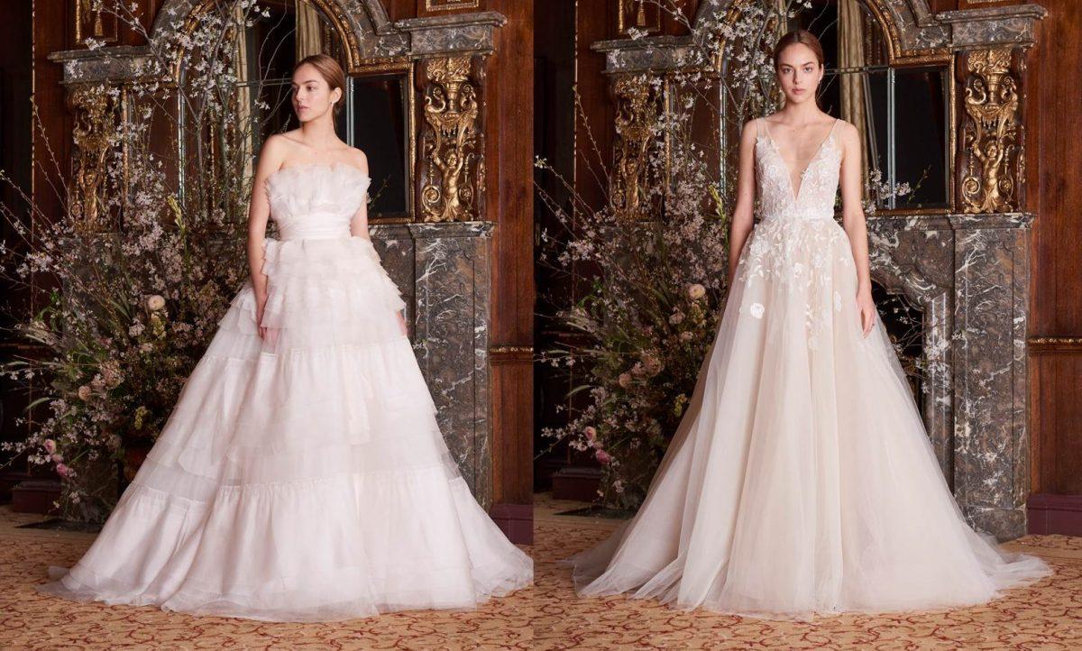Abiti da sposa Monique Lhuillier  i modelli più pregiati dalla collezione  2019  FOTO  3814b311a28