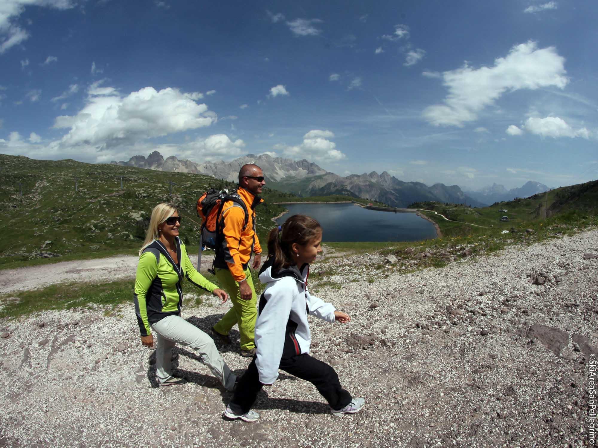 trekking san pellegrino vacanze con bambini hotel resort attività