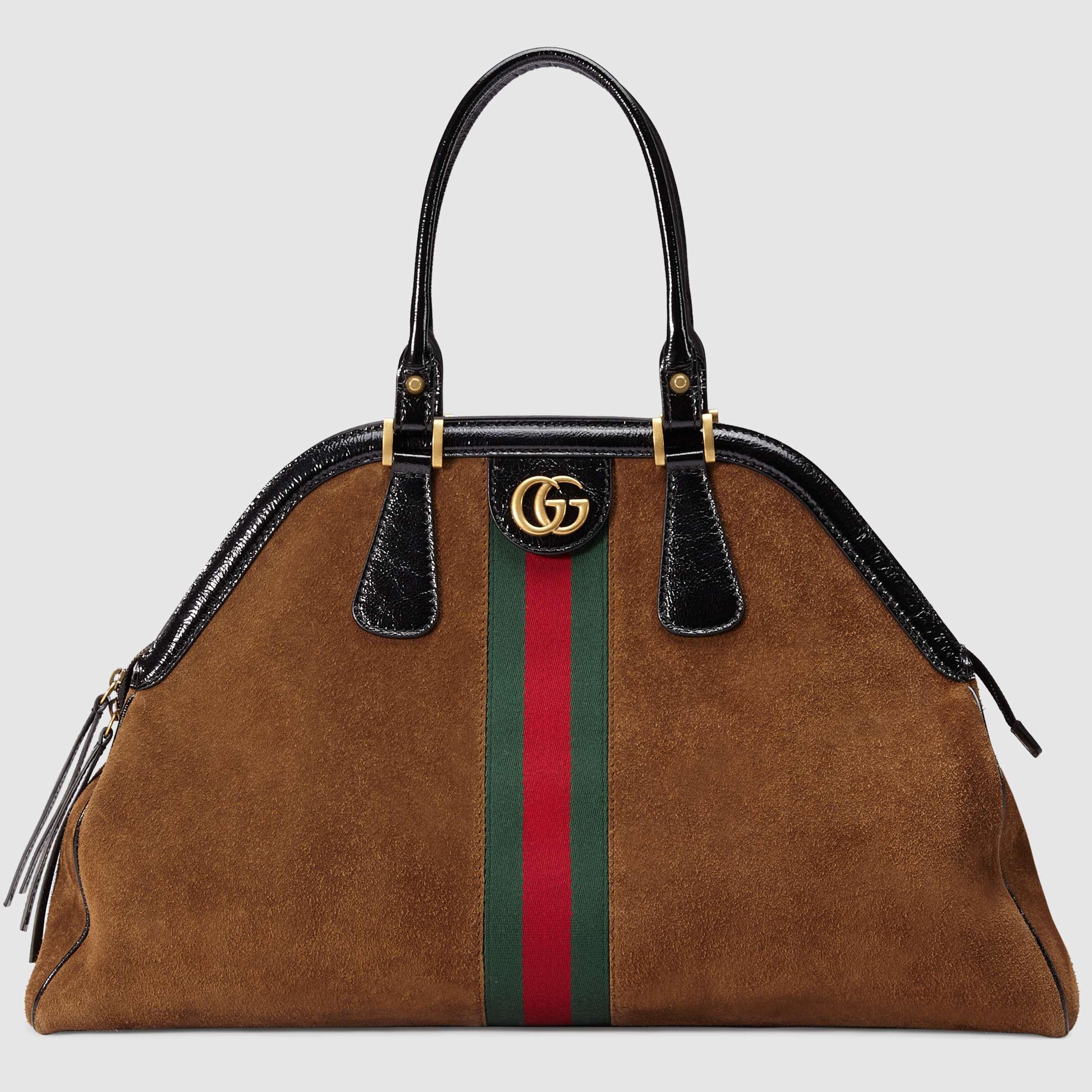 Borse Gucci Autunno Inverno 2018-2019  mood anni  70 e tocchi ... fb9cb81ef0f8