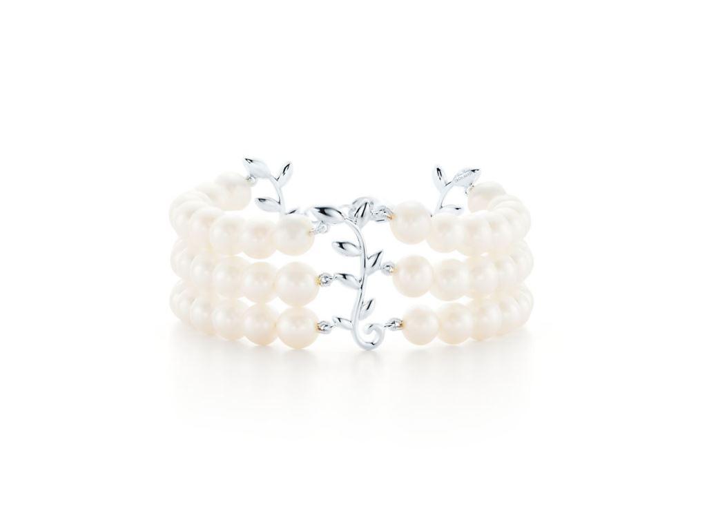 Bracciale di perle Tiffany 2018 2019