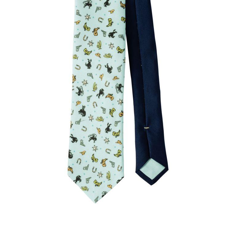 Cravatta in twill di seta Prada cravatte uomo autunno inverno 2018 2019