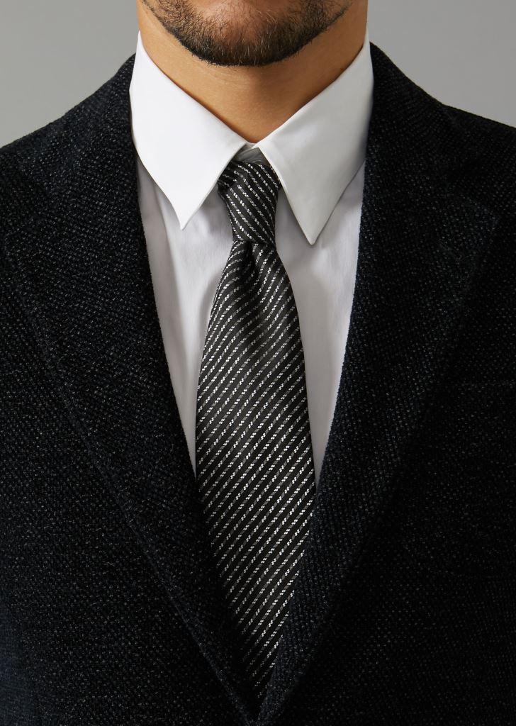 Cravatta uomo in seta firmata Giorgio Armani cravatte uomo