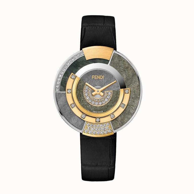 Orologio Fendi con diamanti e pietre naturali orologi donna autunno inverno 2018 2019