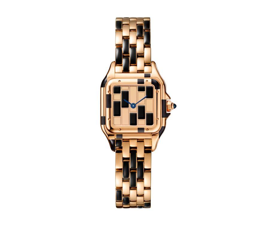 Orologio Panthere di Cartier in oro bianco e rosa orologi donna autunno inverno 2018 2019