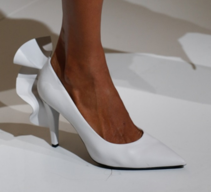 Scarpe a punta Max Mara milano fashion week 2018