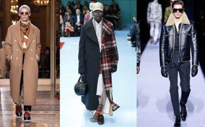 Cappotti uomo, i modelli eleganti e sportivi per l'Autunno/Inverno 2018-2019 [FOTO]
