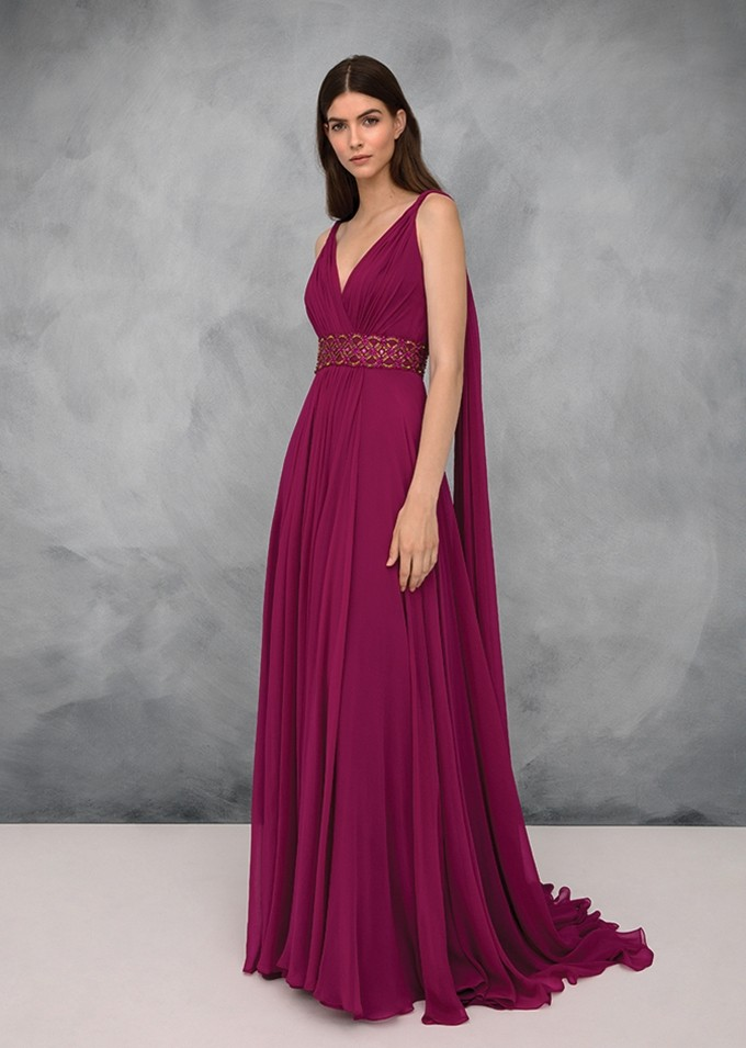 brand new f7540 1e0eb Vestiti eleganti da cerimonia lunghi, corti e con pantaloni ...