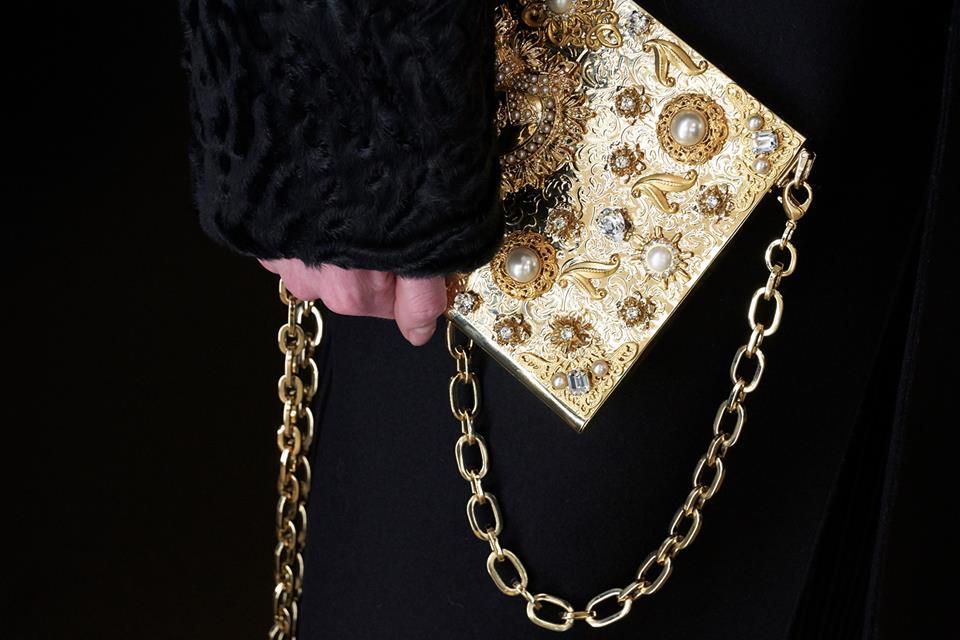 Borsa gioiello Dolce & Gabbana inverno 2019