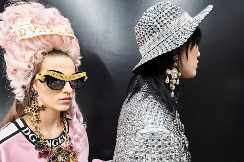 Cappello a larga tesa gioiello Dolce & Gabbana