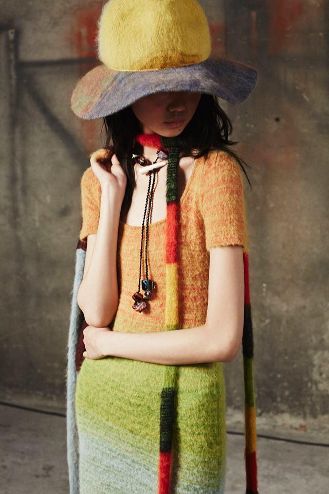 Cappello di lana a larga tesa Missoni