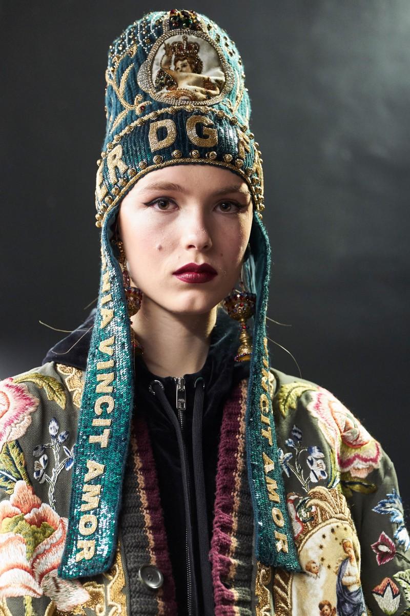 Cappello di lana stile beanie Dolce & Gabbana