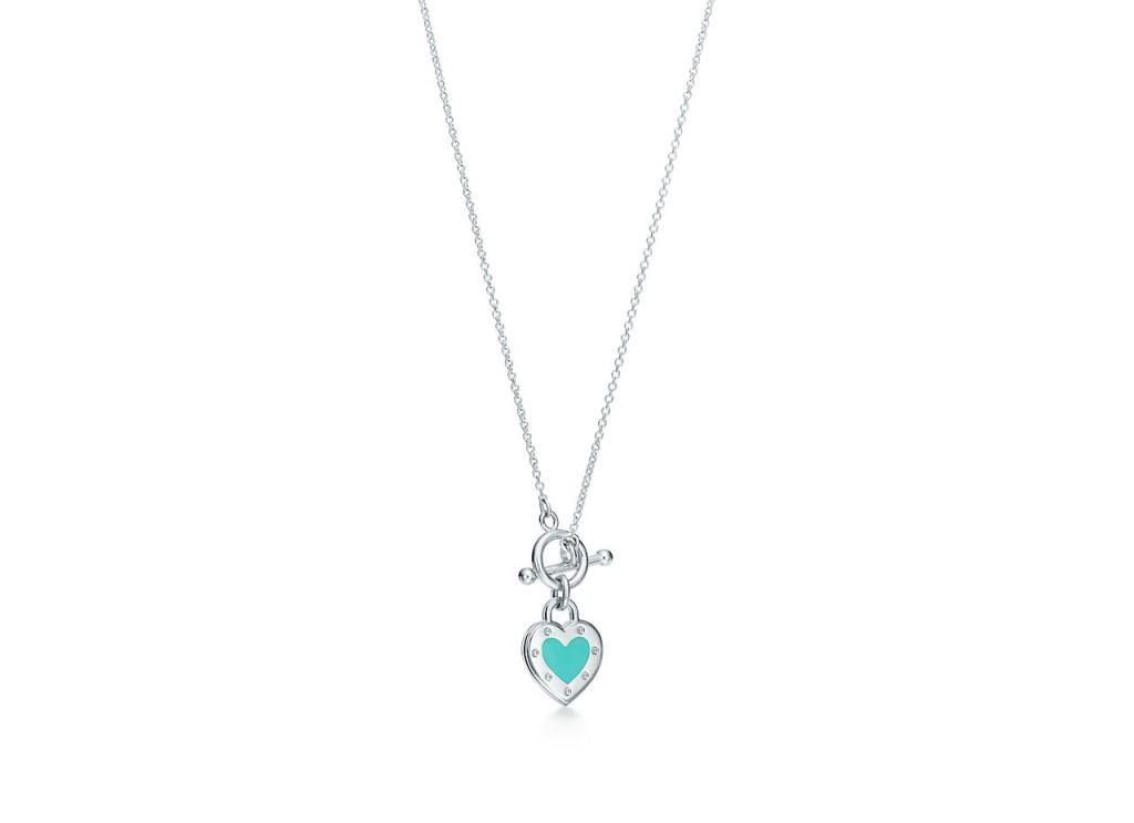 Collana in argento Tiffany 2018 2019