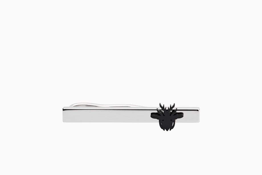 Fermacravatta in argento Dior gioielli uomo inverno 2019