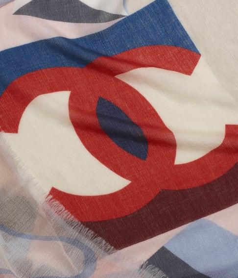 Foulard Chanel in cashmere e seta