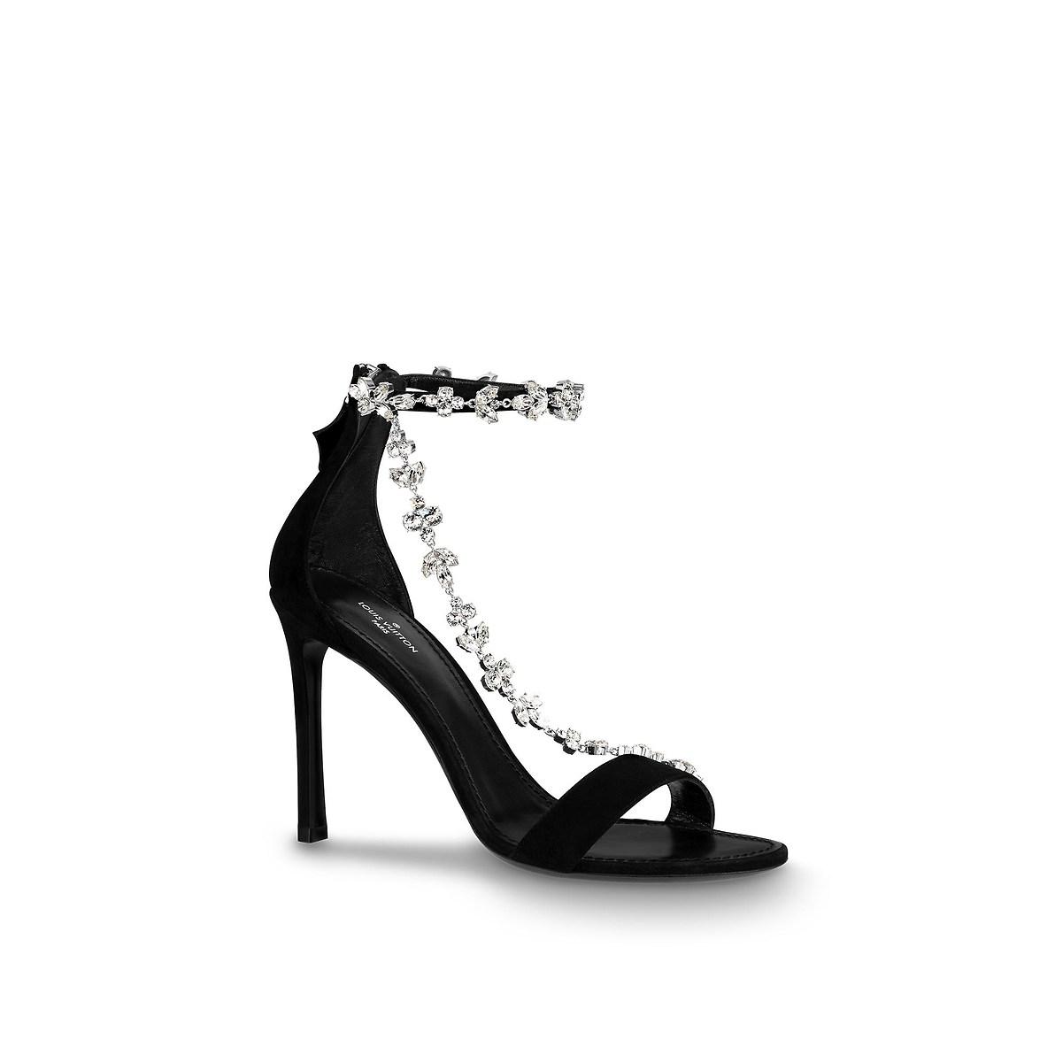 Sandali gioiello Louis Vuitton autunno inverno 2018 2019
