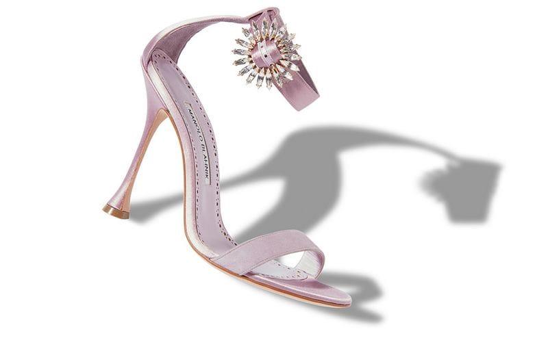 Sandali gioiello Manolo Blahnik scarpe eleganti 2018 2019