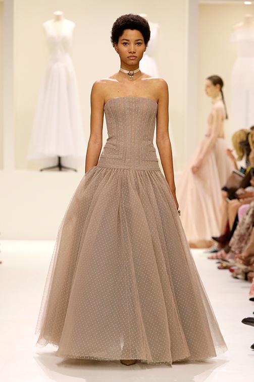 Vestito elegante da cerimonia Dior Haute Couture autunno inverno 2018 2019