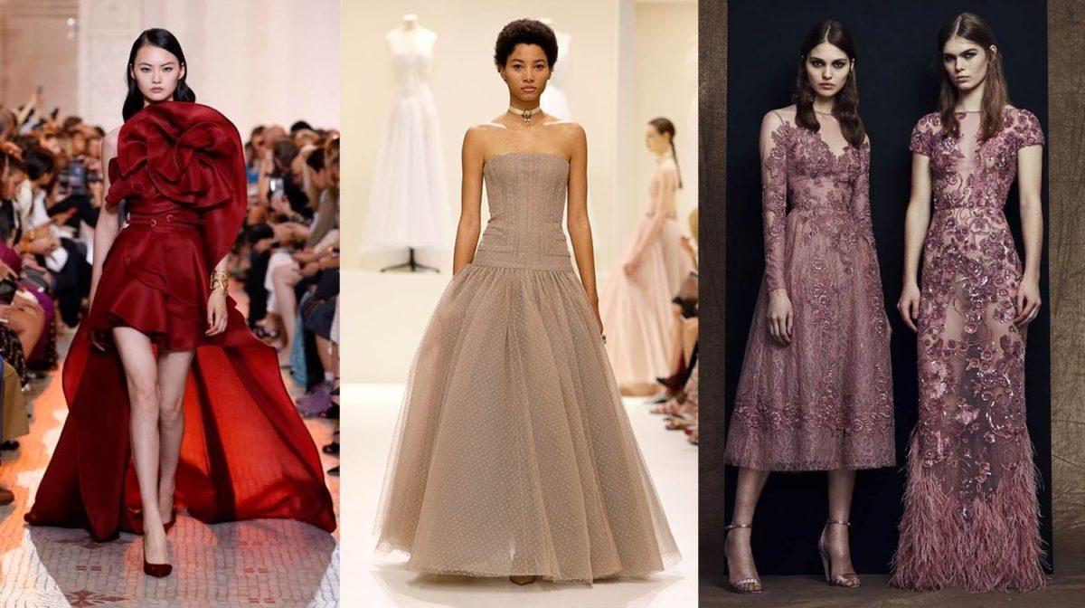 Vestiti Cerimonia Haute Couture.Vestiti Eleganti Da Cerimonia Lunghi Corti E Con Pantaloni I Piu