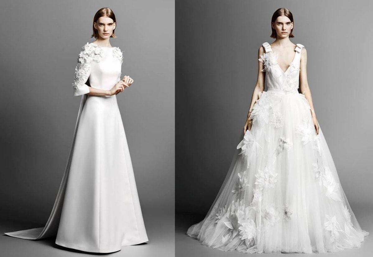 7a946152ed90 Viktor and Rolf bridal 2019  abiti da sposa anticonvenzionali e glamour   FOTO