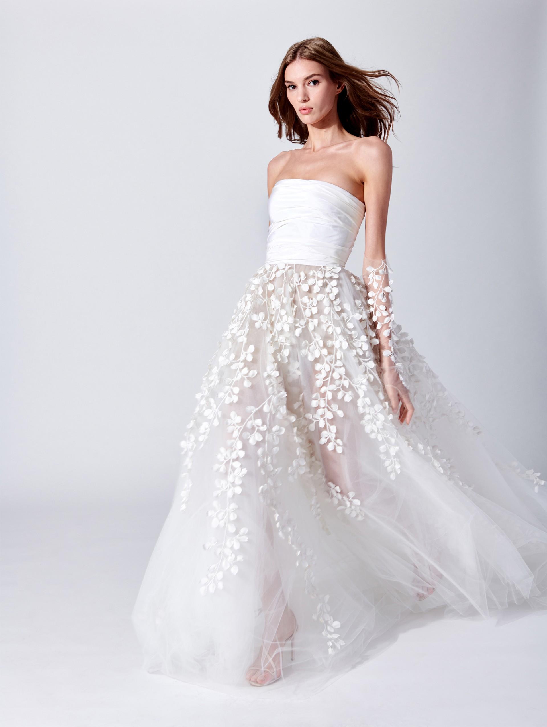 Abito da sposa Oscar De La Renta da principessa collezione 2019