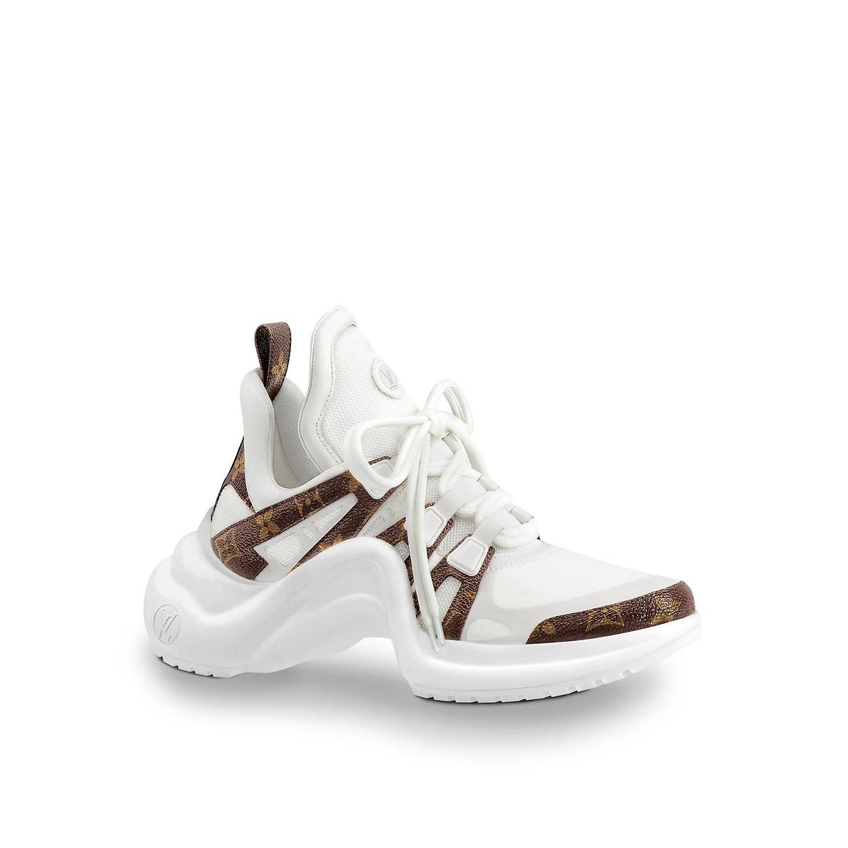 Chunky sneakers Louis Vuitton a 790 euro autunno inverno 2018 2019