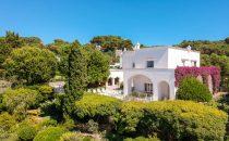 In vendita  la villa a Capri dove visse Totò