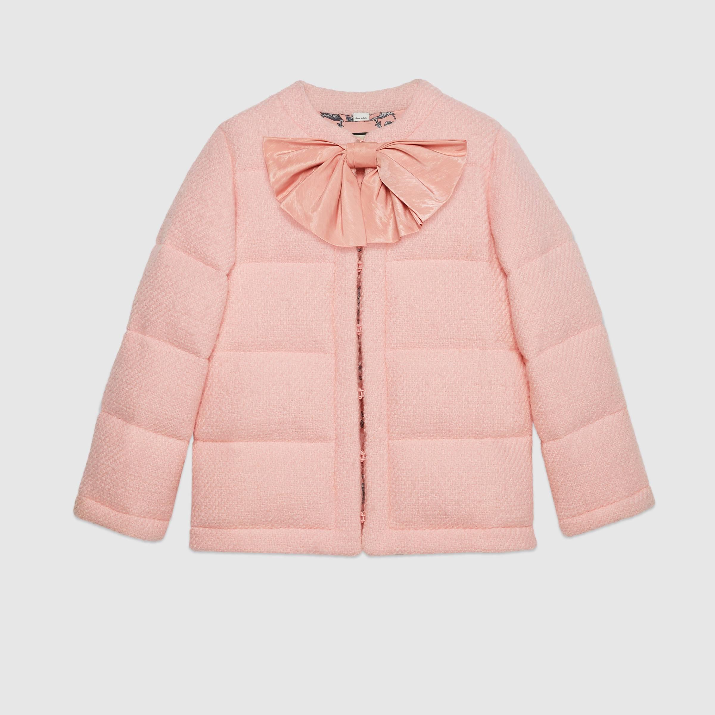Piumino Gucci in tweed