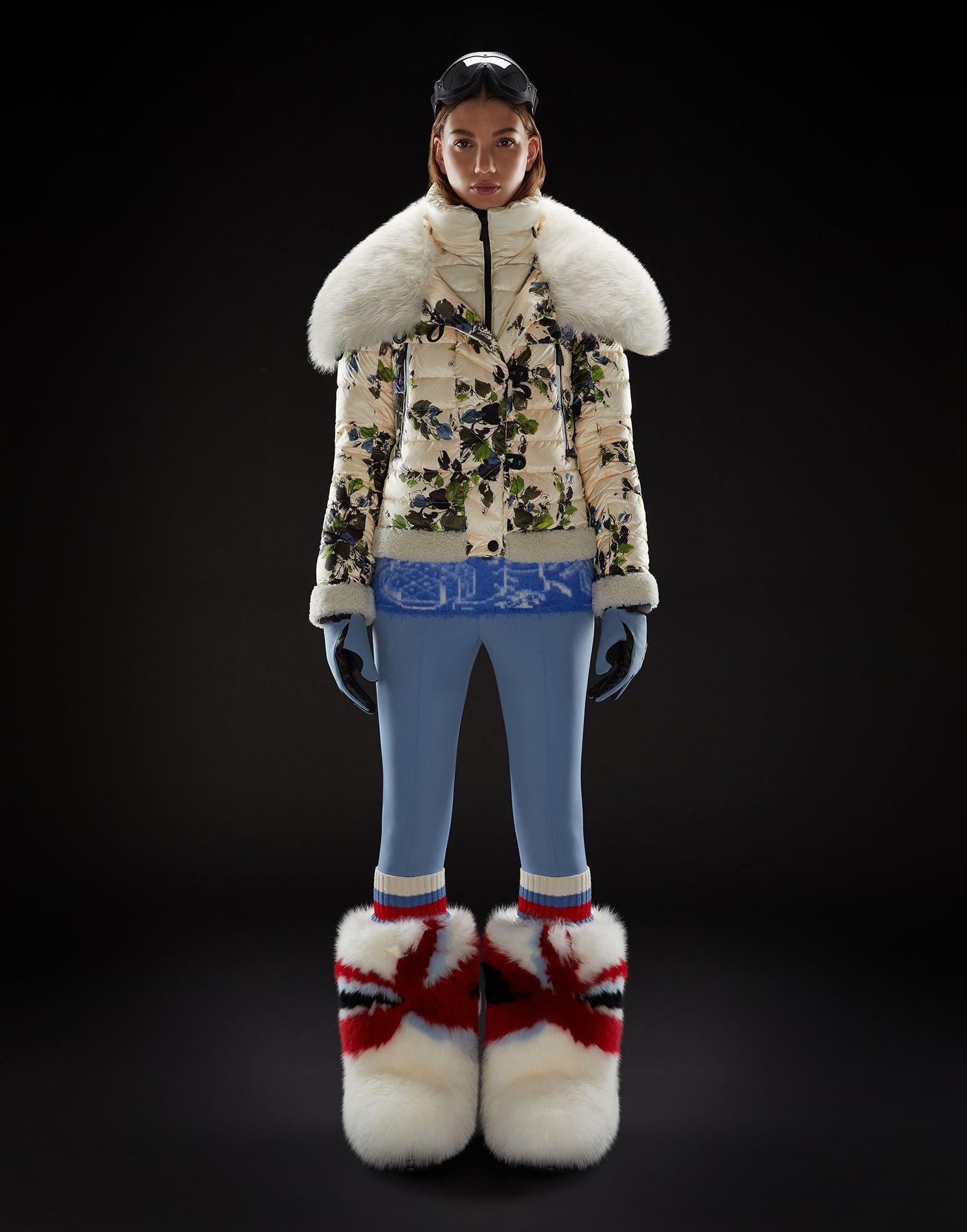 Piumino Moncler imbottito da neve