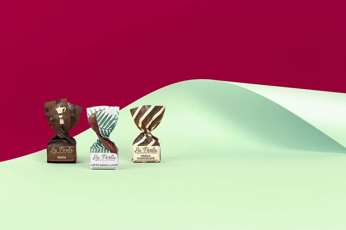 Cioccolatini Latte Senza Latte, Triple Chocolate e Moka di La Perla di Torino regali natale 2018