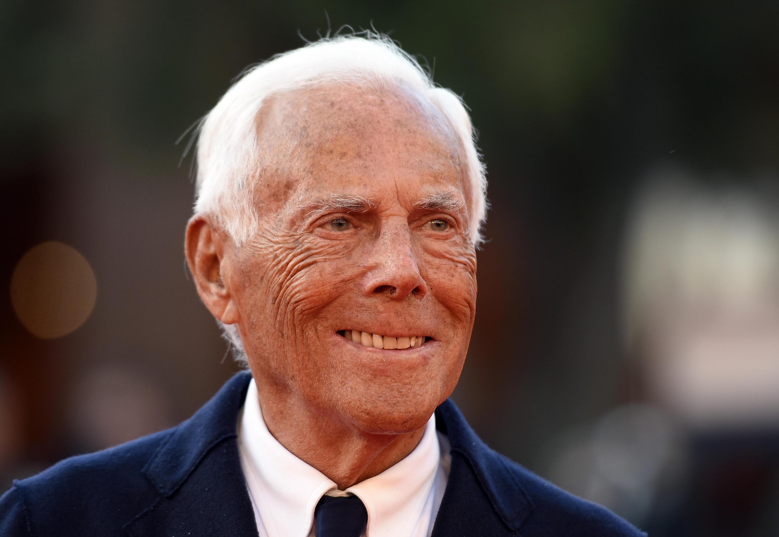 Giorgio Armani italiani più ricchi 2018