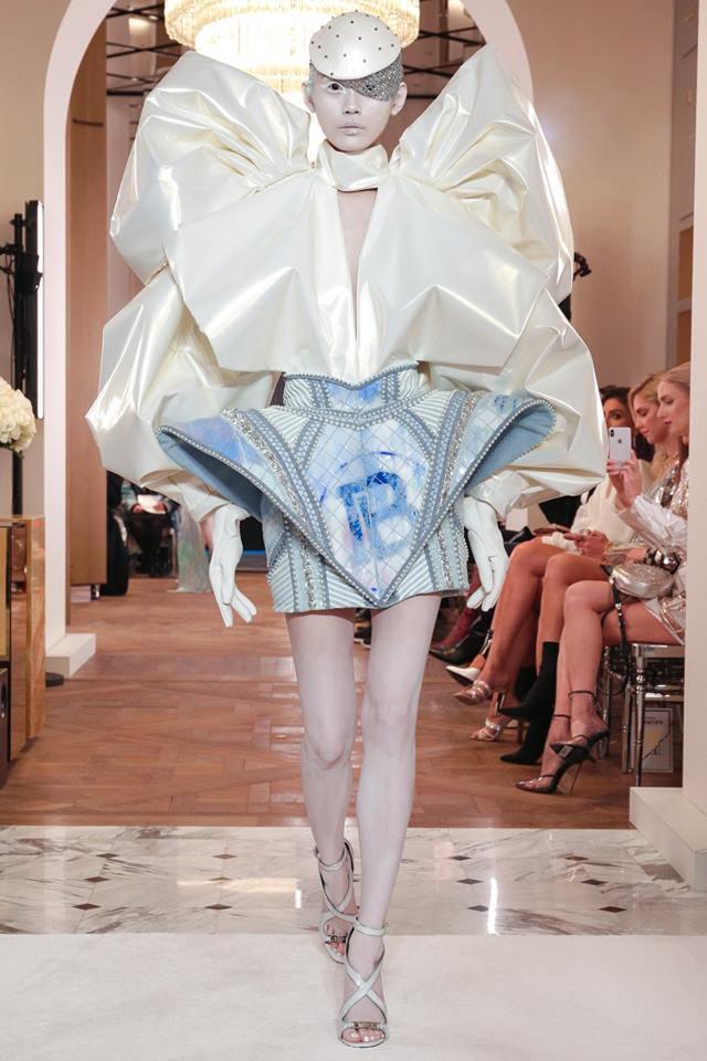 Abito corto Balmain couture