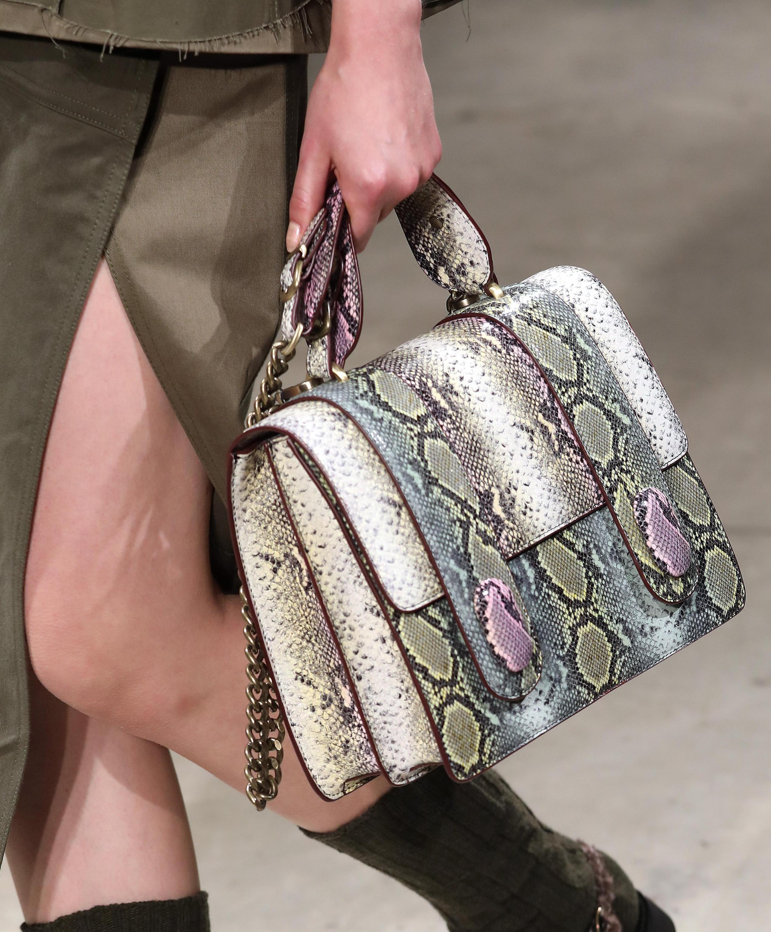 Borsa animalier multicolor Antonio Marras