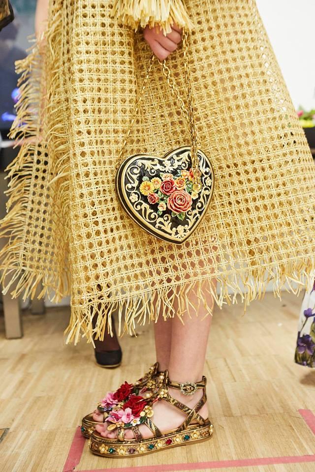 Borsa da sera a cuore Dolce & Gabbana