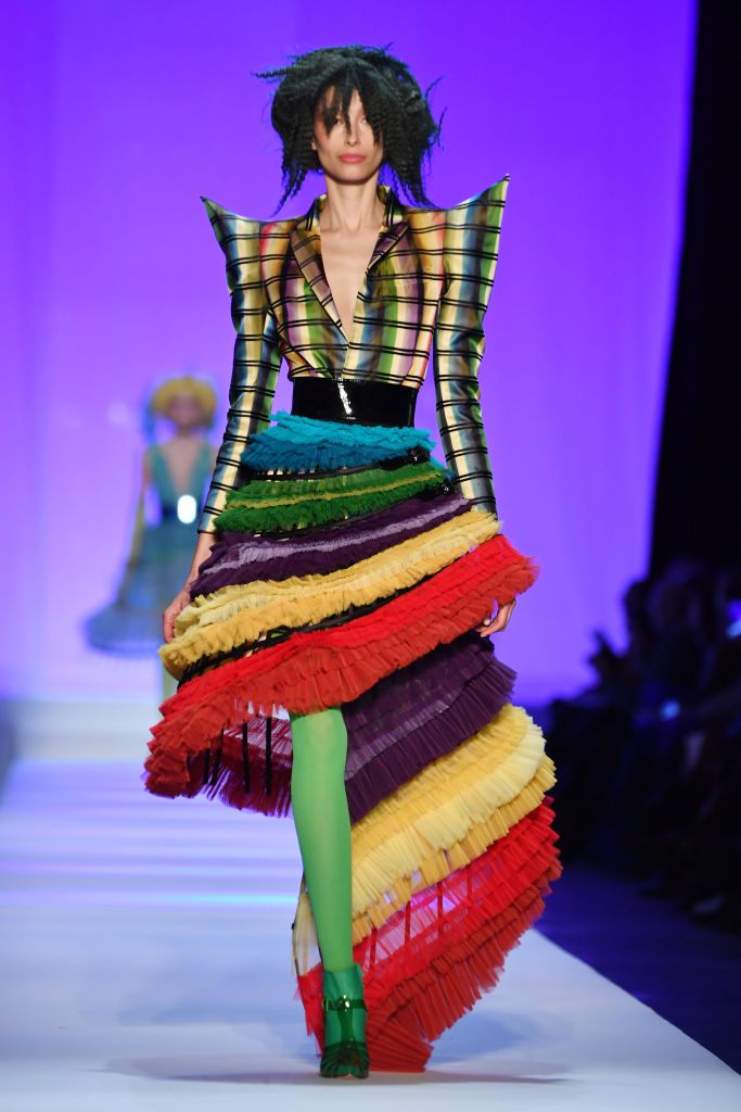 Abito multicolor Jean Paul Gaultier
