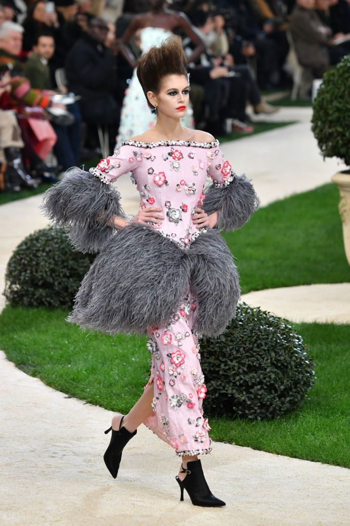 Kaia Gerber in Chanel (Photo by Pascal Le Segretain Getty Images)