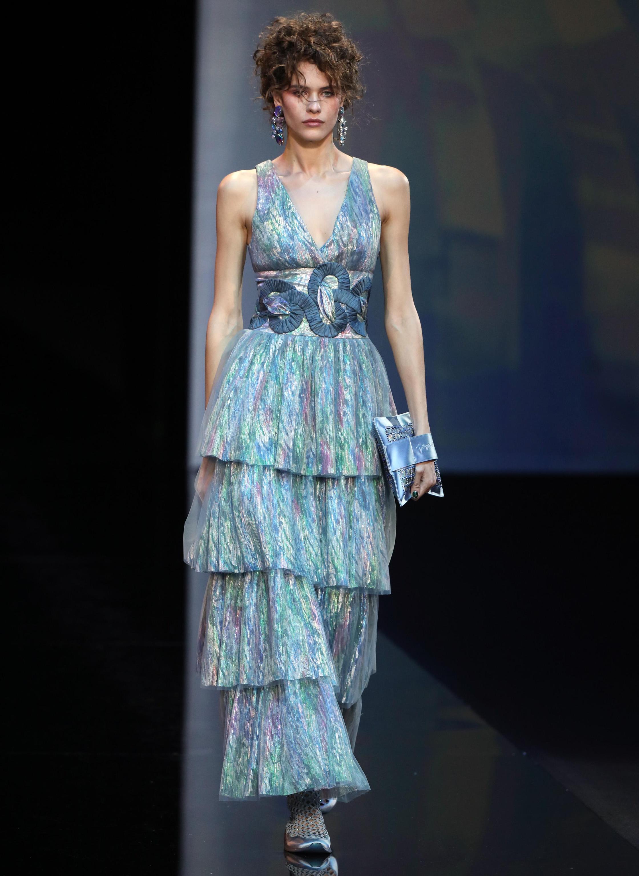 Vestito da sera Giorgio Armani primavera 2019