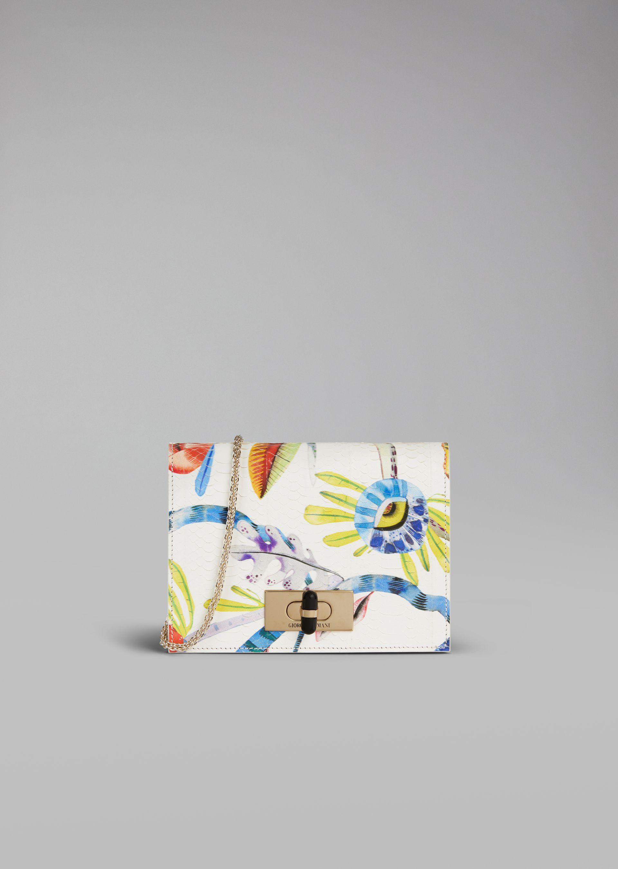 Borsa da cerimonia da giorno a fiori Giorgio Armani