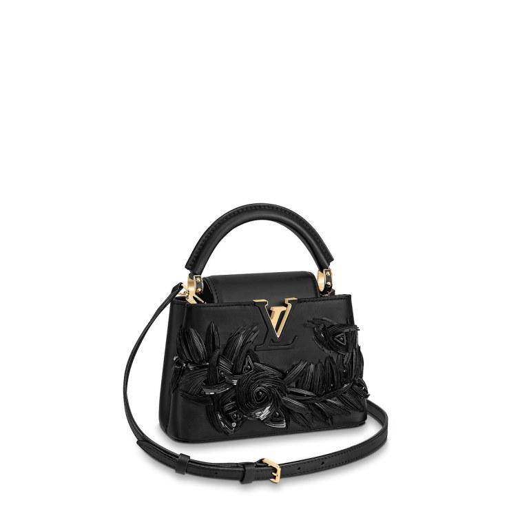 Borsa da cerimonia nera Louis Vuitton