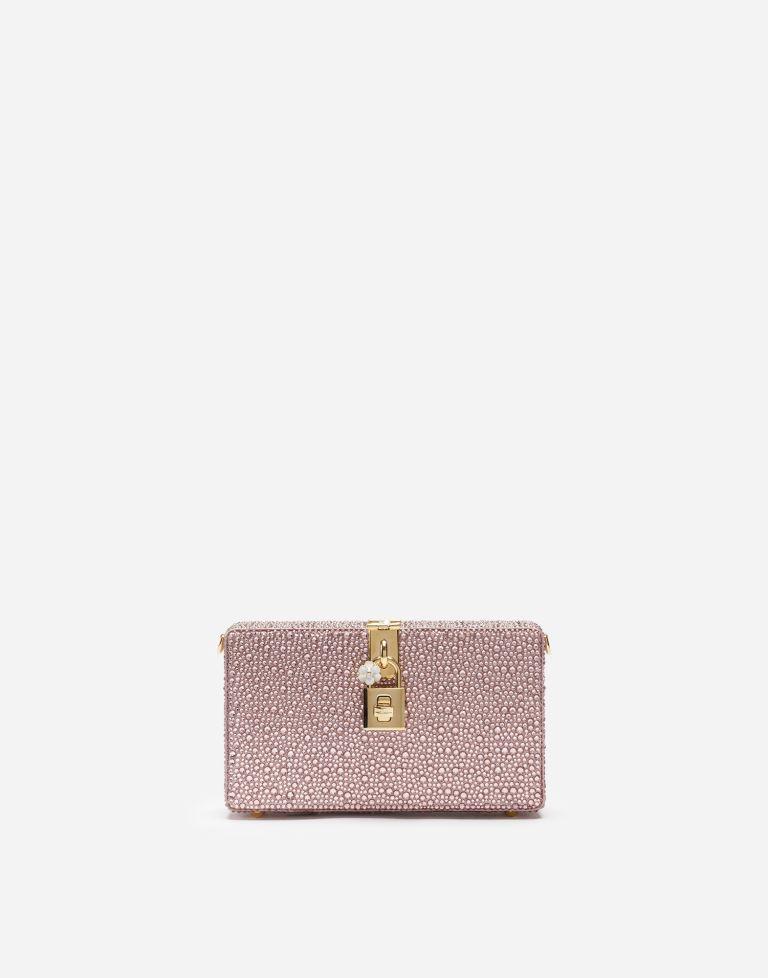 Pochette da cerimonia rosa Dolce & Gabbana