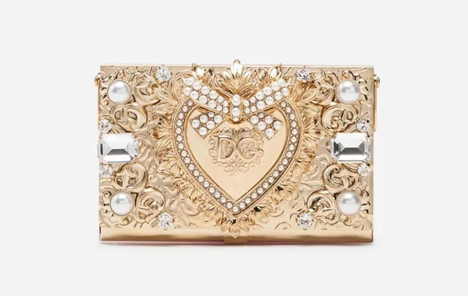 Pochette gioiello da cerimonia Dolce & Gabbana